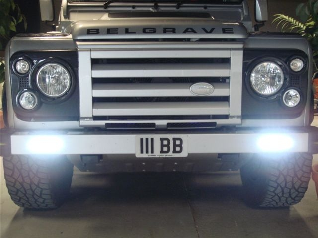 Land Rover Defender Front Bumper Available With Led