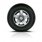 Defender Dual Finish alloy wheel
