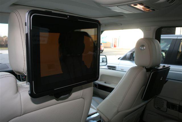 Ipad Rear Entertainment By Belgrave Bespoke Vehicle
