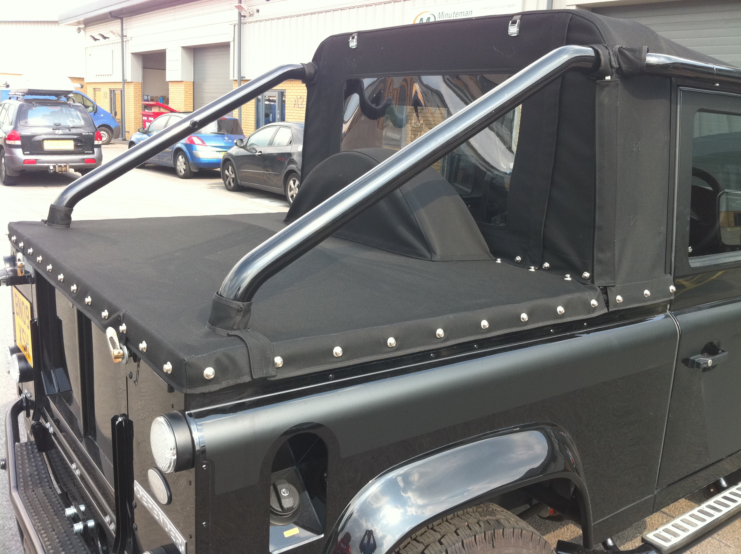 Tonneau Conversion For Land Rover Defender Svx Convertible