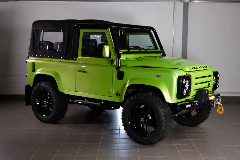 Defender Thor 90 Extreme Soft Top Convertible 2012my