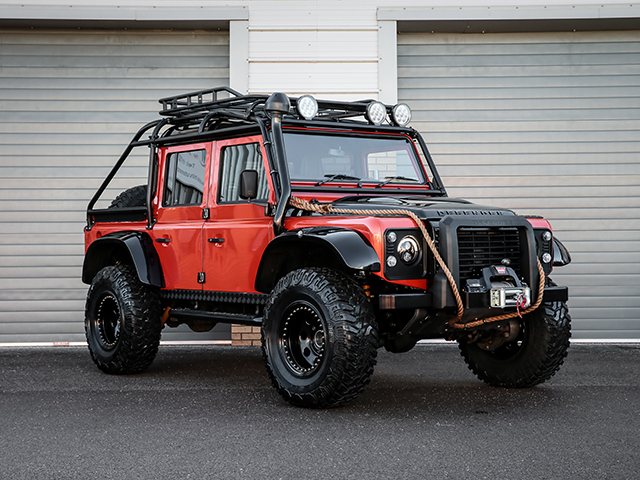Defender Thor Spectre Styled Big Foot 110 Xs Double Cab