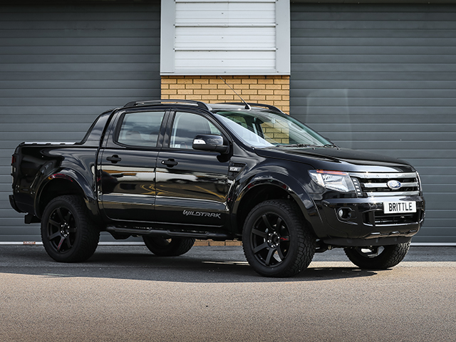 FORD RANGER WILDTRAK 32 TDCi AUTOMATIC RICH BRIT NEMESIS EDITION DOUBLE CAB PICK UP 2015MY