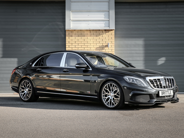 maybach s600 brabus 900 rocket v12 6.3 7g-tronic - brittle motor group