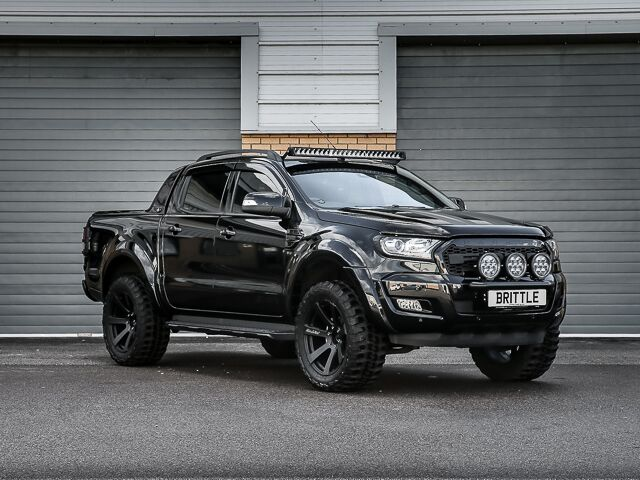 RANGER WILDTRAK 32 TDCi AUTOMATIC RICH BRIT NEMESIS TOP GUN ULTIMATE BLACKOUT EDITION RAPTOR STYLED 2 SUSPENSION LIFT PROGRAMME EXTENDED NAPPA