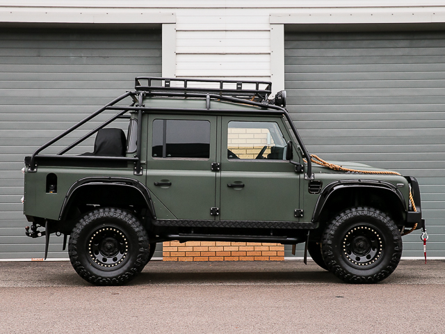"Land Rover Defender Luxury >> DEFENDER THOR ""SPECTRE STYLED"" 110 XS DOUBLE CAB PICK UP/DCPU LEFT HAND DRIVE/LHD (2014 MY/71995 ..."